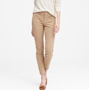 Banana Republic tan Sloan dress pants